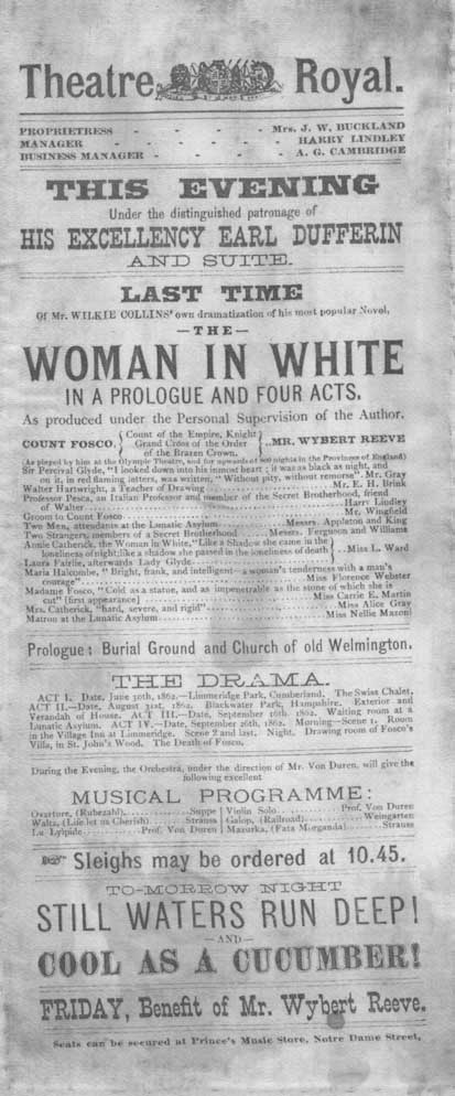 The Woman in White play.