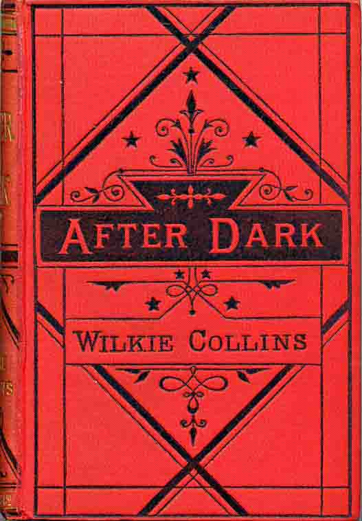 After Dark - 1876 Smith, Elder edition in red and black cloth