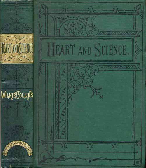 Heart and Science - Chatto & Windus edition in green cloth.