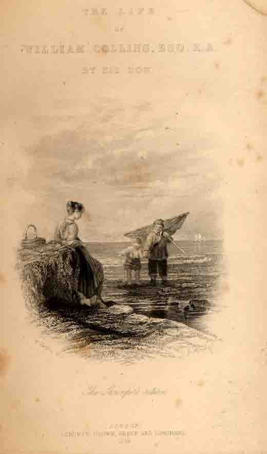 The Shrimper's Return from Memoirs of the Life of William Collins, R. A.