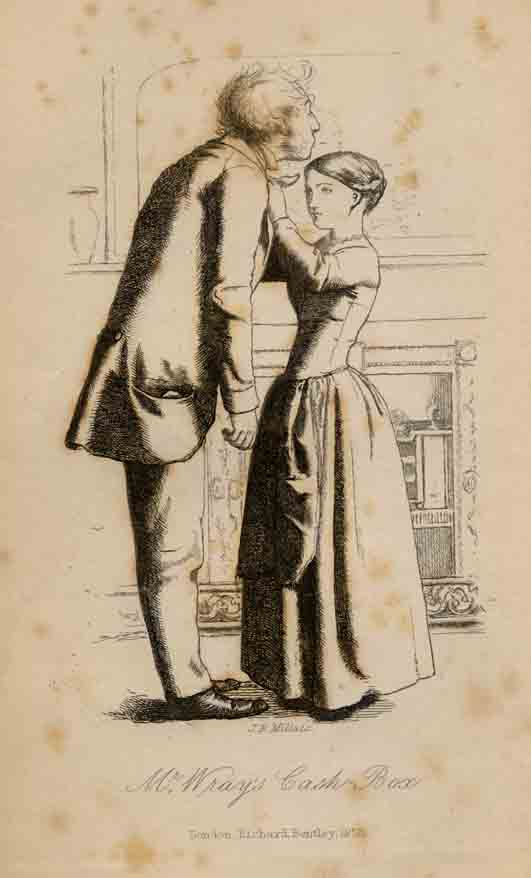 Mr Wray's Cash-Box - Millais illustration to first edition.