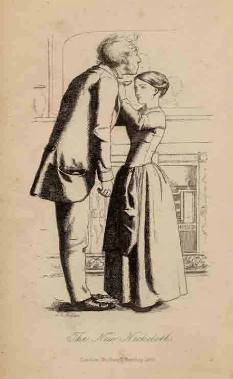 Mr Wray's Cash-Box - Millais illustration to second edition.