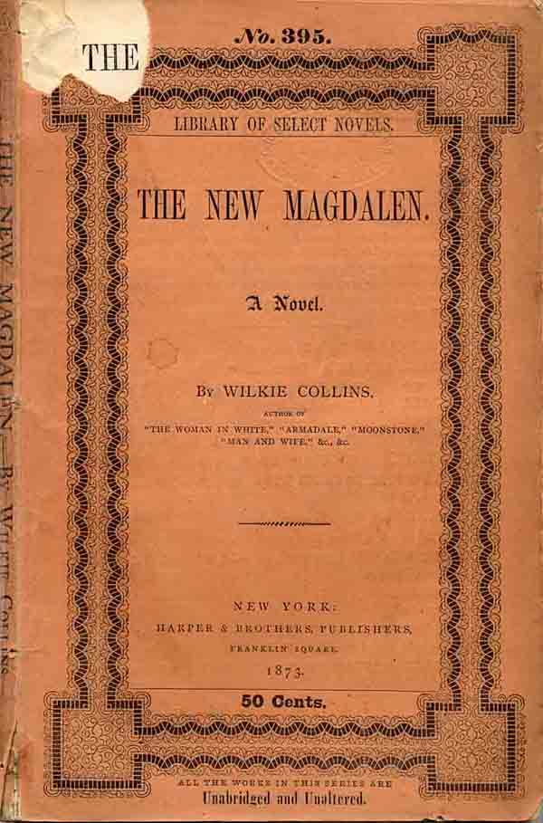 The New Magdalen - Harper's New York edition in wrappers.