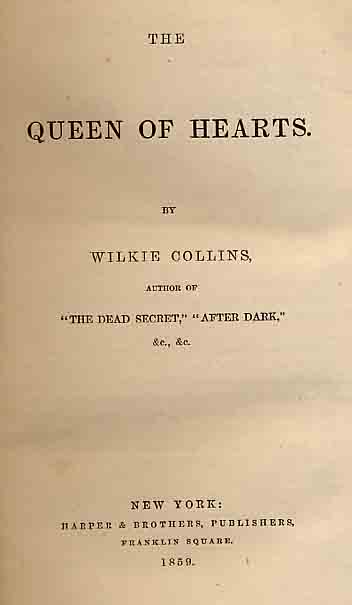 Queen of Hearts - Harper's US edition.