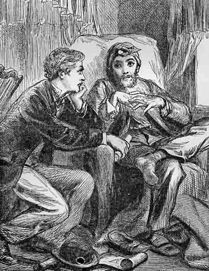 Illustration from the first edition of Armadale in 1866.
