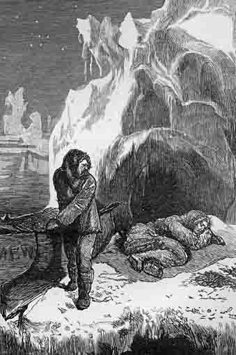 Illustration from the Chatto & Windus edition of The Frozen Deep