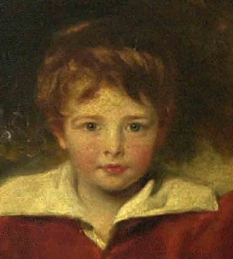 Charles Collins painted by Alexander Geddes.