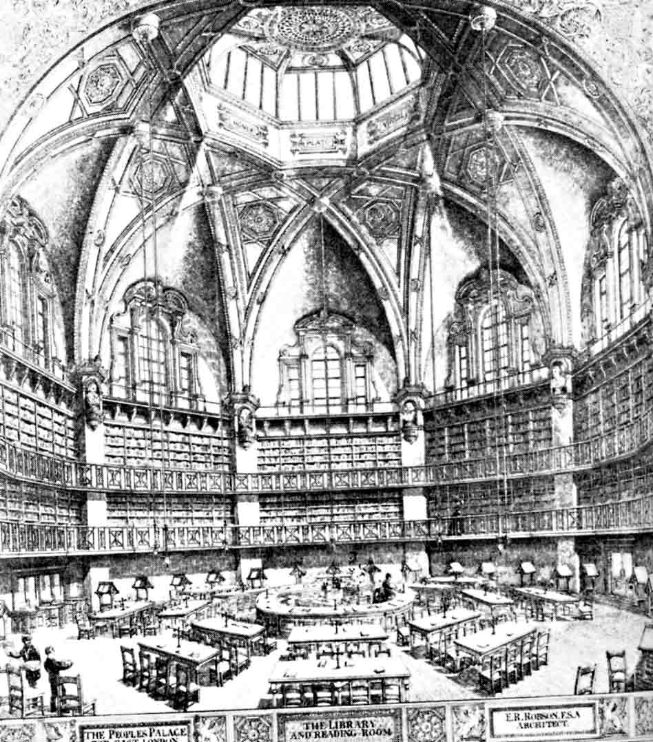 The Octagon Library of the People's Palace