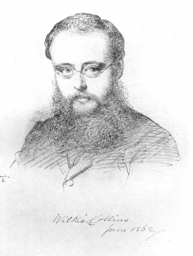 Wilkie Colilns in 1862 by Lehmann.