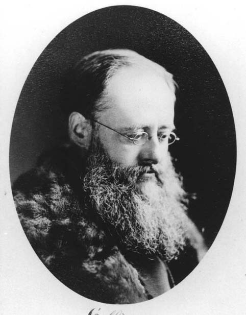 Wilkie Collins photographed by Sarony of New York
